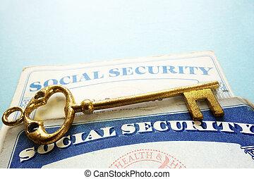 sécurité sociale, clã©, cartes