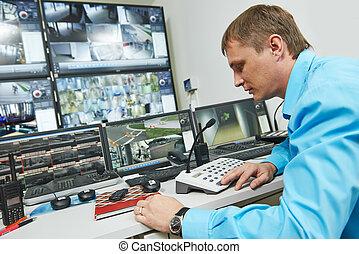 sécurité, surveillance vidéo
