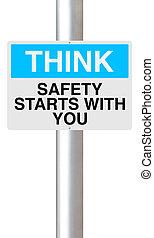 sécurité, vous, débuts