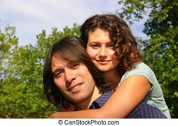 séduisant, couple