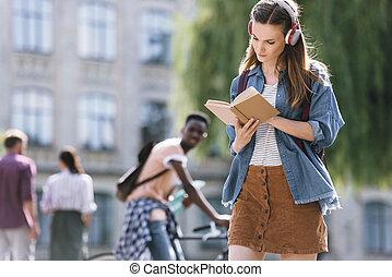 séduisant, lecture étudiant, livre