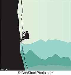 s'élever montagne