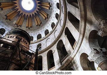 sépulcre, saint, église