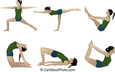 série, 3, yoga