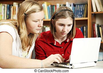sério, estudar, online