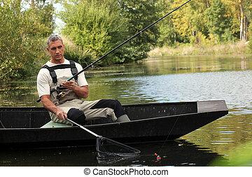 sênior, pesca