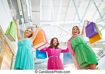 sì, shopping
