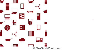 síť, ikona, seamless, model, eps10