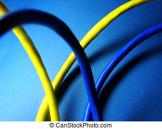síť, kabel