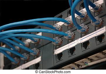 síť, oprava programu vsuvkami