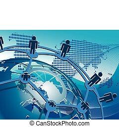 síť, společenský