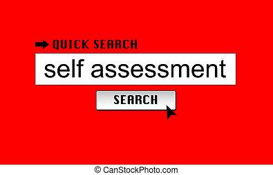sí mismo, tasación, búsqueda