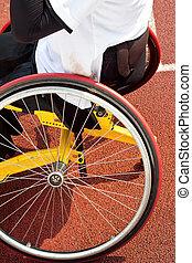 sílla de ruedas, deportistas
