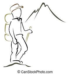 símbolo, alpinismo