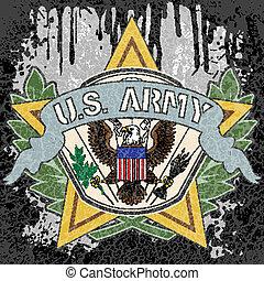 símbolo americano, exército