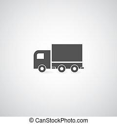 símbolo, caminhão
