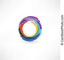 símbolo, circular