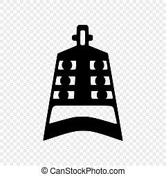 símbolo, confucionismo, aislado