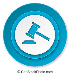 símbolo, corte, veredicto, sinal, leilão, ícone