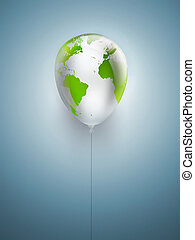 símbolo, de, meio ambiente