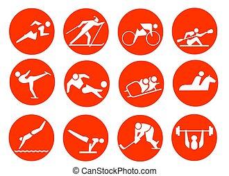 símbolo del deporte