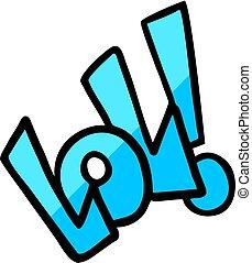 símbolo, desenho, lol