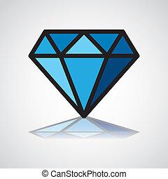 símbolo, diamante