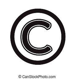 símbolo, diseño, propiedad literaria, ilustración, icono