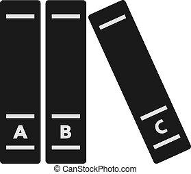 símbolo, enciclopedia, libros