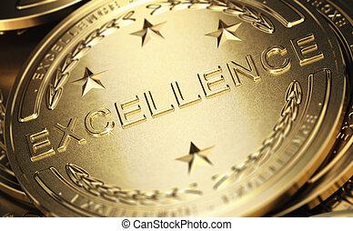 símbolo, excelência, negócio