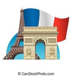 símbolo, francia
