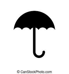 símbolo, guarda-chuva