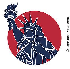 símbolo, liberdade