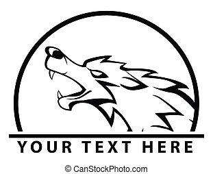 símbolo, lobo