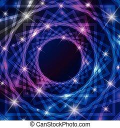 símbolo, mágico, plano de fondo