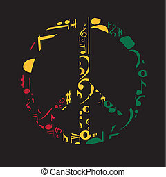 símbolo, música