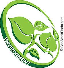 símbolo, meio ambiente