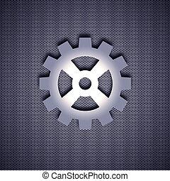 símbolo, metal