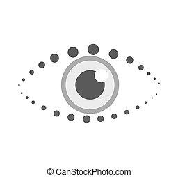 símbolo, olho