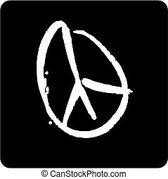 símbolo, paz