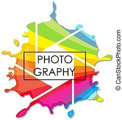 símbolo, photostudio, negócio