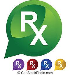 símbolo, prescrição