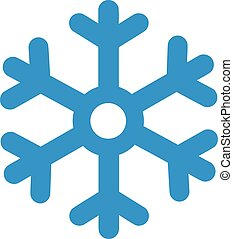 símbolo, snowflake