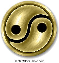 símbolo, yang yin