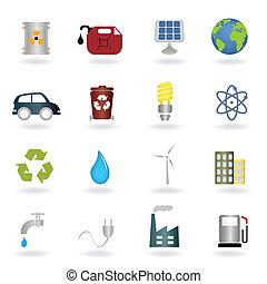 símbolos, ambiental