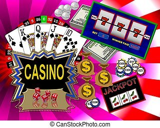 símbolos, casino
