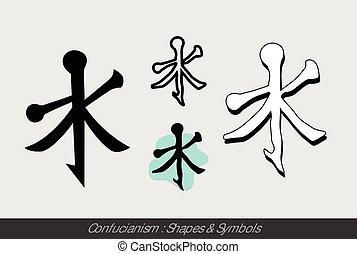 símbolos, confucionismo