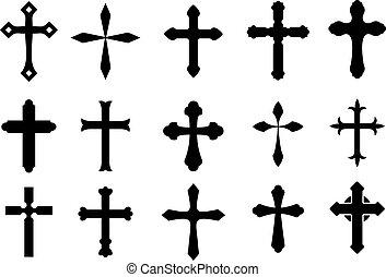 símbolos, cruz
