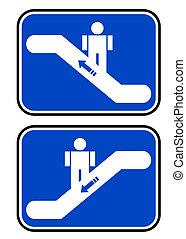 símbolos, dos, stais