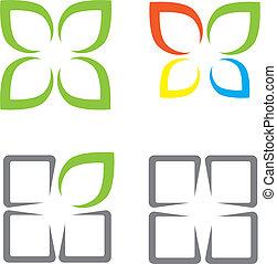 símbolos, ecológico